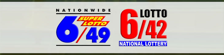 Image of 6/49 Super Lotto and 6/42 logos