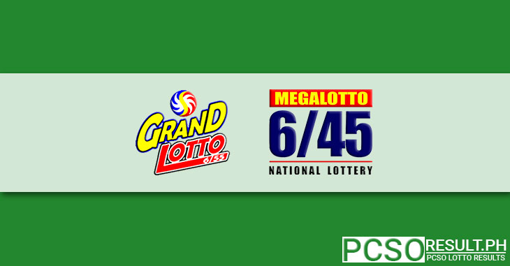 6/55 Grand Lotto and 6/45 Mega Lotto Logos