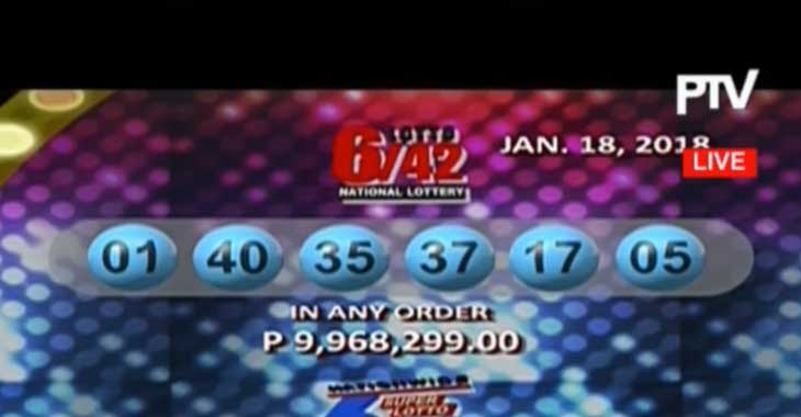 Result Lotery On 49