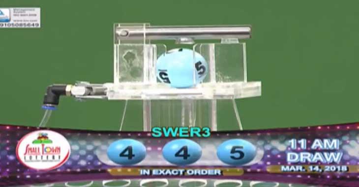 STL Swer3 Result 11AM: 4-4-5