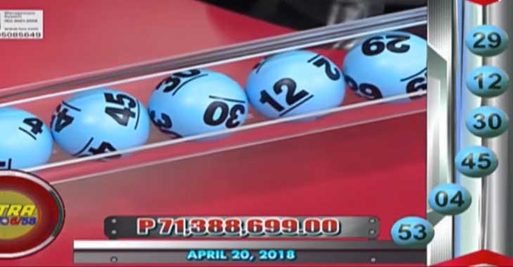 Lotto 11.4.20