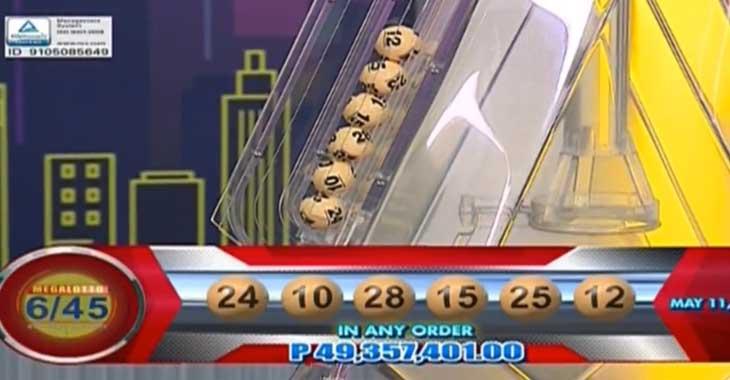 Lotto 6 Result