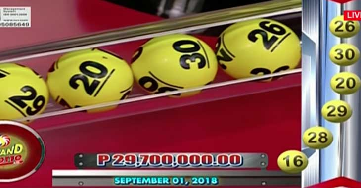 lotto 30 september 2019