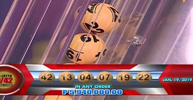 Lotto 13.04 19