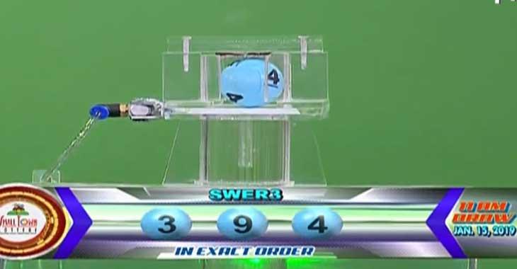 STL Swer3 Result: 3-9-4